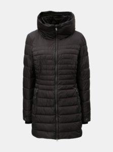 Čierna dámska prešívaná dlhá bunda killtec