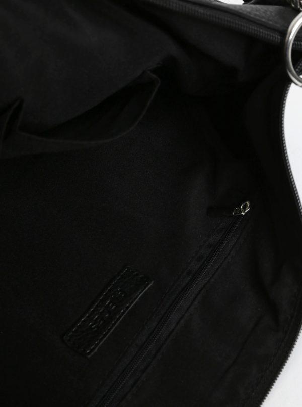 Čierna crossbody kabelka Pieces