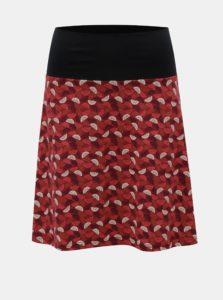 Červená vzorovaná sukňa Tranquillo Cama