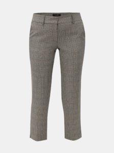 Béžovo-sivé kárované nohavice Dorothy Perkins