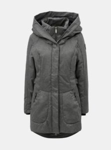 Sivý dámsky melírovaný nepremokavý kabát killtec