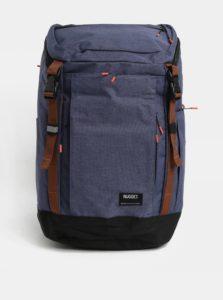 Modrý batoh s hnedými detailmi Nugget 35 l