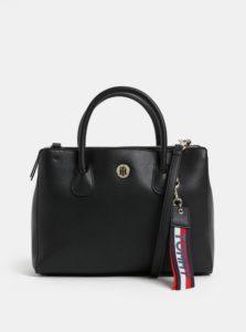 Čierna kabelka s odnímateľnou listovou kabelkou Tommy Hilfiger Charming