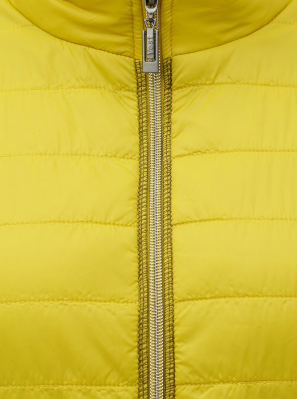 Žltá tenká bunda Yest
