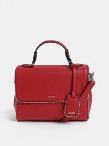 Červená malá kabelka s kovovými detailmi ALDO