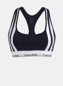 Bielo–modrá podprsenka Calvin Klein