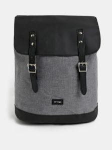 Čierno–sivý batoh Spiral Soho 16 l