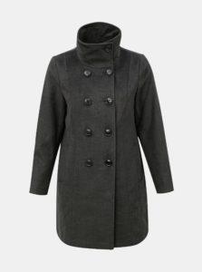 Sivý melírovaný kabát Ulla Popken