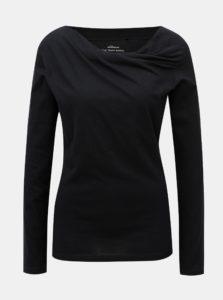 Čierne tričko s dlhým rukávom SKFK Bi