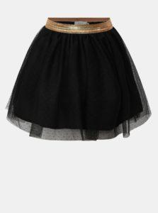 Čierna dievčenská sukňa Name it Tullu