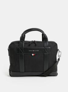 Čierna taška na notebook Tommy Hilfiger