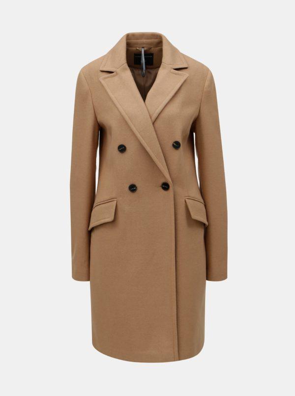 Hnedý kabát Dorothy Perkins Tall