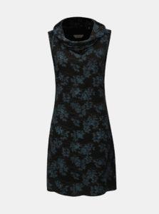 Modro–čierne šaty bez rukávov SKFK