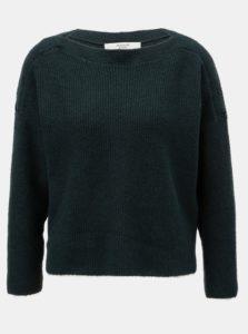 Zelený oversize sveter Jacqueline de Yong Mille