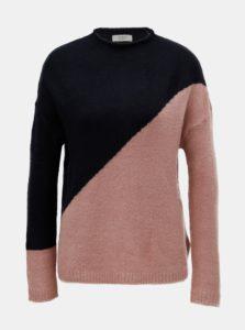 Modro–ružový sveter Jacqueline de Yong Eva