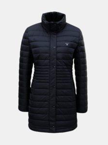 Tmavomodrý dámsky prešívaný páperový kabát GANT