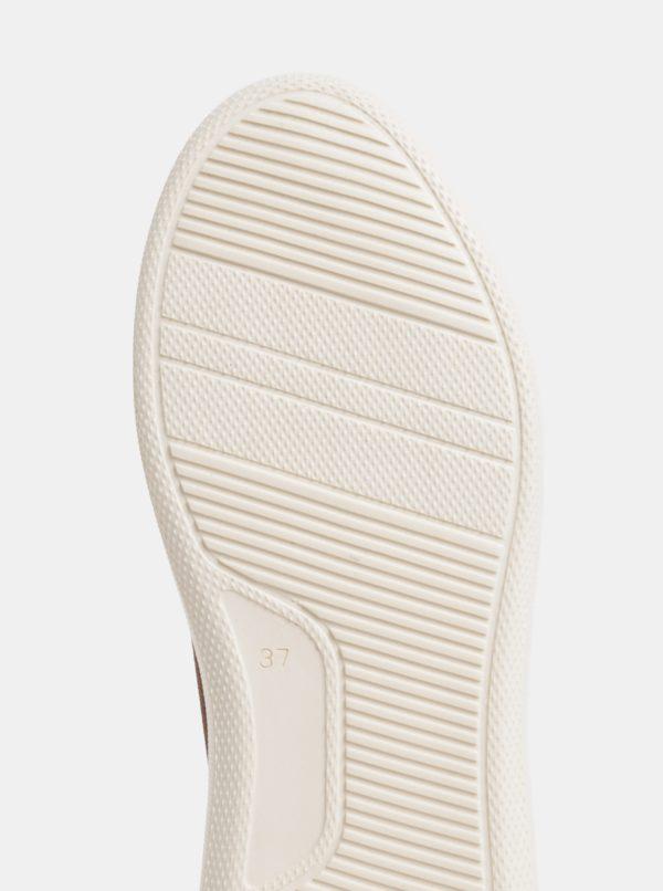 Hnedé dámske semišové členkové zimné topánky s vlnenou podšívkou GANT Kay