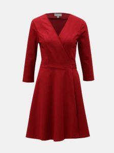 Červené zavinovacie šaty Apricot