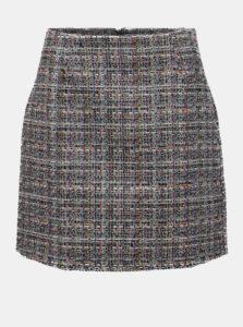 Čierno–krémová vzorovaná sukňa Apricot