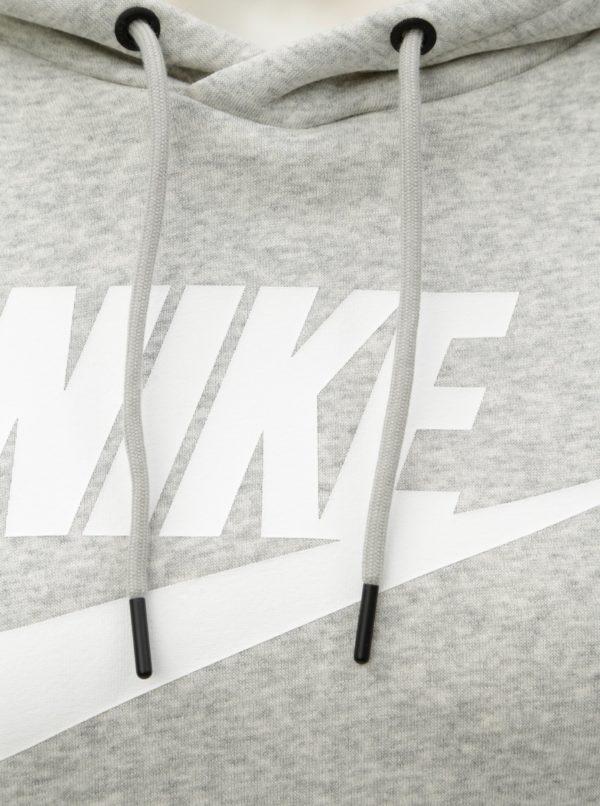 Sivá dámska standard fit mikina Nike