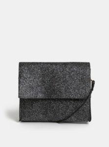 Čierna dievčenská trblietavá kabelka Name it