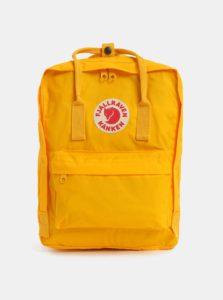 Žltý nepremokavý batoh Fjällräven Kånken 16 l