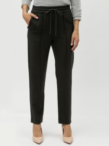 Čierne nohavice s elastickým pásom French Connection