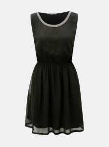 399dab649cab Čierne šaty s elastickým pásom ONLY Thea