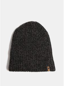 11d1b36c9 Čierna melírovaná unisex zimná čiapka Fjällräven Övik