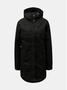 Čierny dámsky nepremokavý kabát Fjällräven Kiruna
