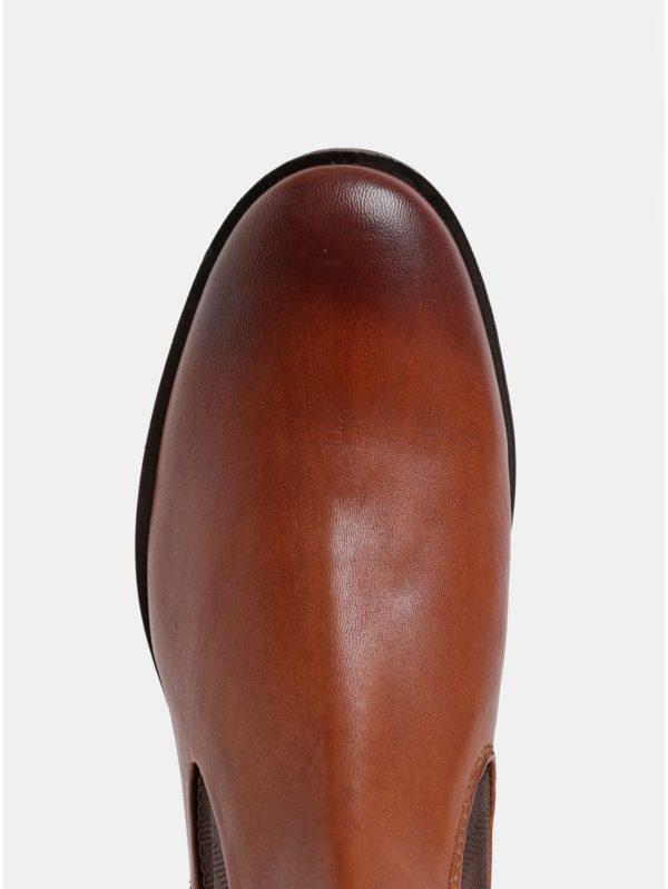Hnedé pánske kožené chelsea topánky Bugatti Abramo