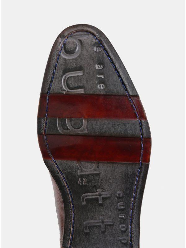 Hnedé pánske kožené poltopánky bugatti Meno
