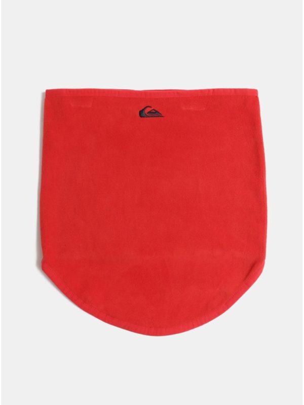 Červený chlapčenský nákrčník s výšivkou Quiksilver Casper You