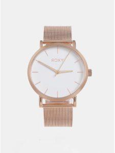 Dámske hodinky v zlatoružovej farbe Roxy Maya