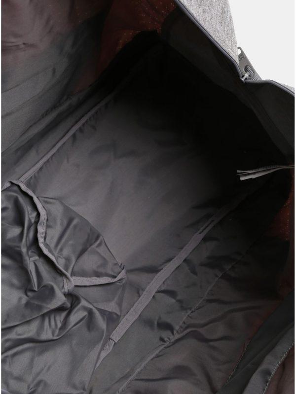 Ružovo–sivá dámska športová taška Roxy Winter Come 32 l