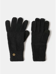 Čierne dámske rukavice Roxy Poetic