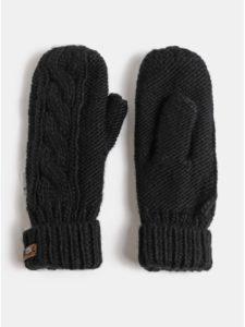 Čierne dámske palčiaky Roxy Winter Mittens