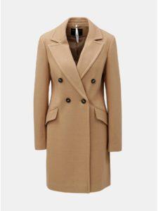 Hnedý kabát Dorothy Perkins Crombie