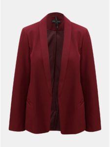 Vínové kostýmové sako Dorothy Perkins Claret