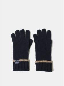 d31fc5fc31f8 Tmavomodré dámske vlnené rukavice Tom Joule Huddle