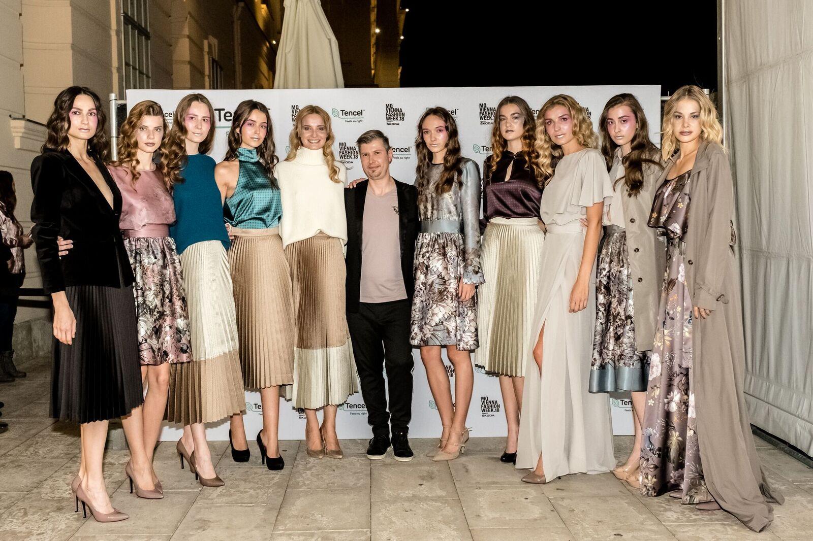 Slovenský dizajnér Rozbora Couture nás opäť reprezentoval na viedenskom fashion weeku! (trend report+backstage)