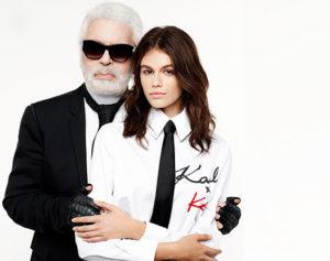 Predstavujeme vám limitovanú kolekciu Kaia pre Karl Lagerfeld