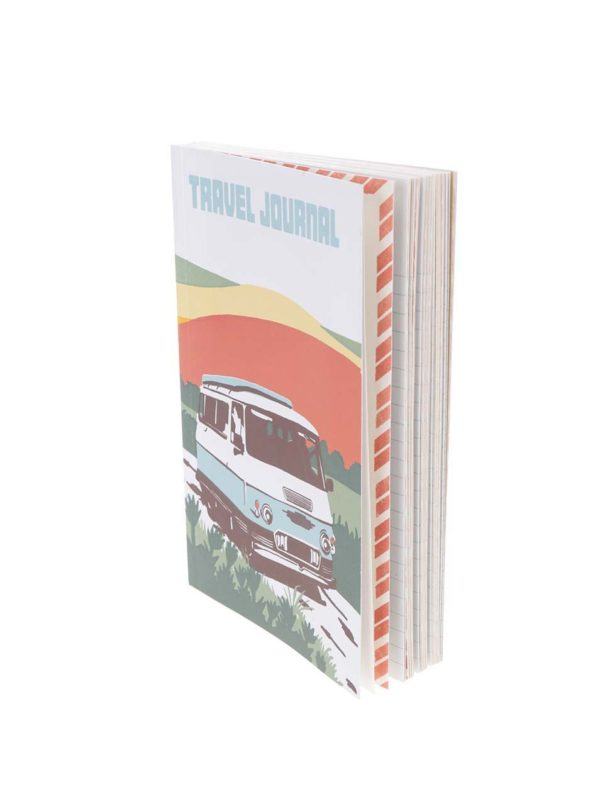 Bielo-zelený cestovný denník Chronicle