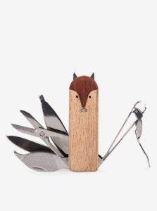 Súprava na manikúru v tvare líšky Kikkerland
