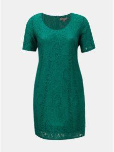 Zelené čipkované šaty La Lemon