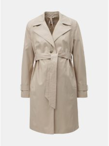 Béžový tehotenský tenký kabát Dorothy Perkins Maternity