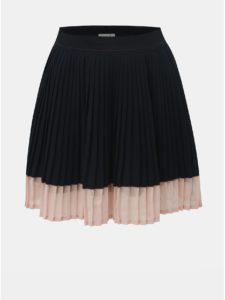 Tmavomodrá dievčenská plisovaná sukňa Name it