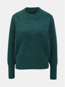 Zelený sveter s prímesou vlny Selected Femme Ena