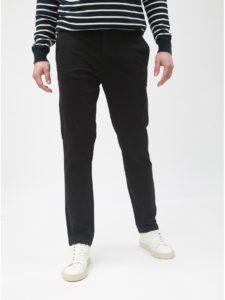 Čierne chino slim nohavice Burton Menswear London