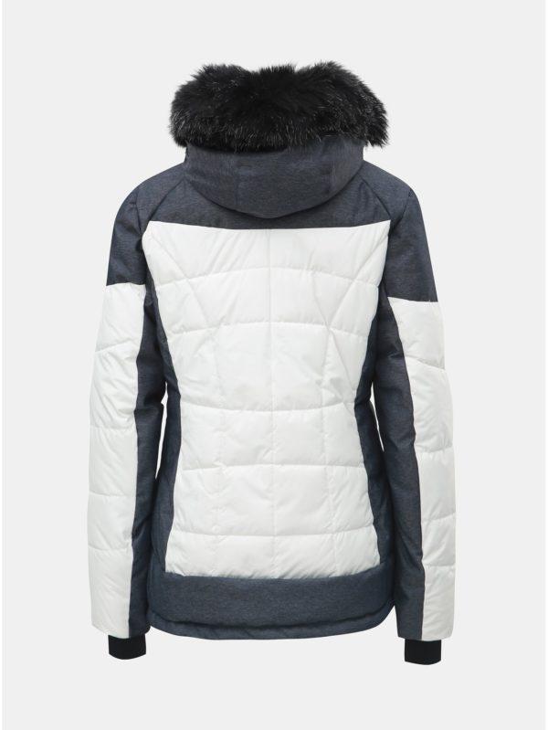 Modro–biela dámska nepremokavá lyžiarska bunda killtec Embla